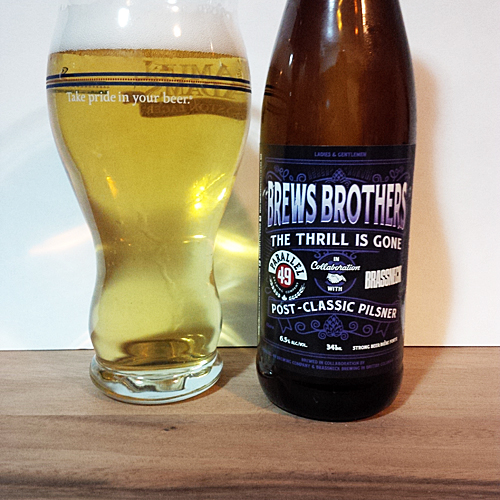 Parallel 49 Brews Brothers - Brassneck Pilsner