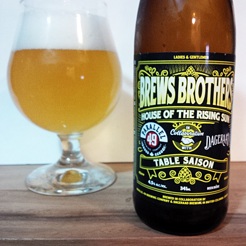 Parallel 49 Brews Brothers - Dageraan Table Saison