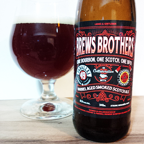 Parallel 49 Brews Brothers - Firehall Scotch Ale