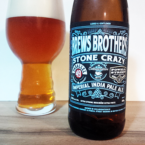 Parallel 49 Brews Brothers - Powell Street Hound Dog