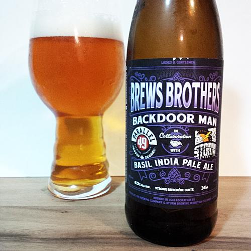 Parallel 49 Brews Brothers - Storm Basil IPA