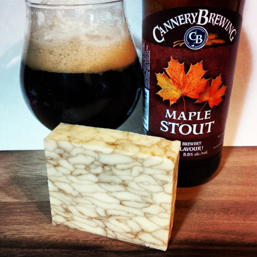 Village Maple Cheddar with Cannery Maple Stout