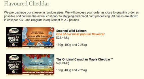Village Maple Cheese