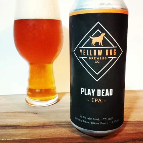 Yellow Dog Brewing Play Dead IPA