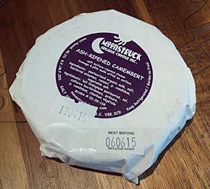 Moonstruck Ash Ripened Camembert