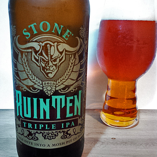 Stone RuinTen Triple IPA