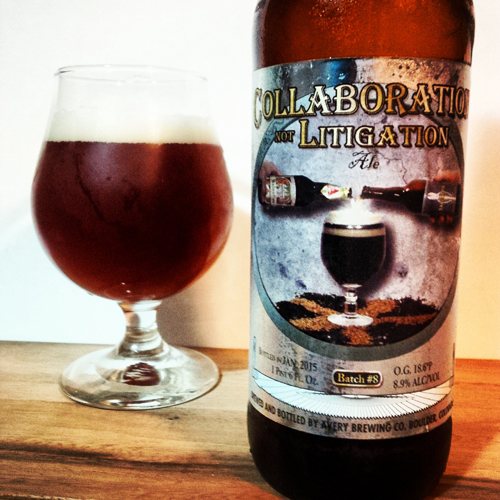 Avery & Russian River Collaboration Not Litigation Ale