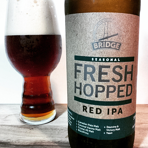 Bridge Brewing Fresh Hop Red IPA