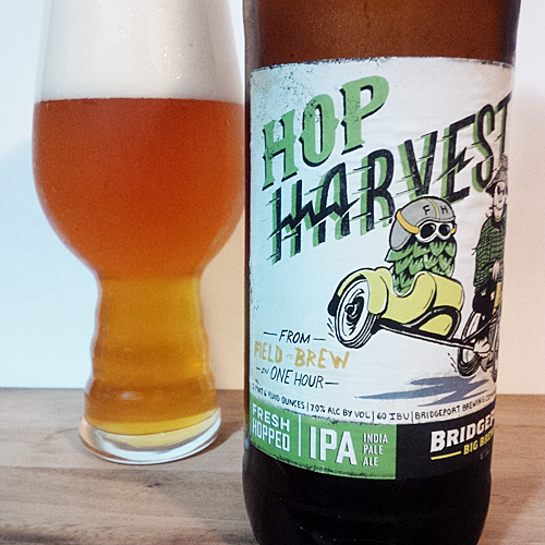 Bridgeport Brewing Hop Harvest Fresh Hop IPA