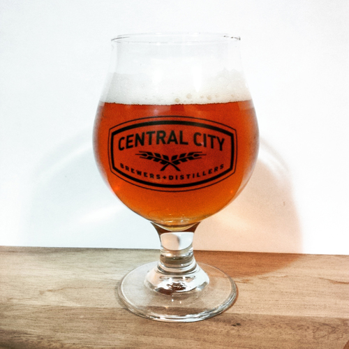 Central City Red Racer Wet Hop Ale