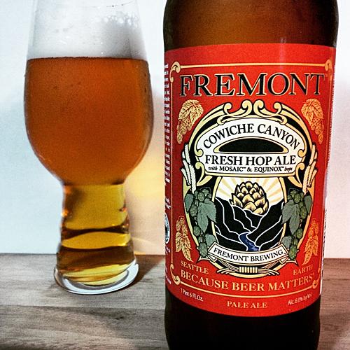 Freemont Cowiche Canyon Fresh Hop Mosiac & Equinox