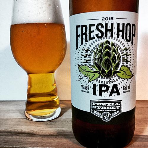 Powell Street Fresh Hop IPA
