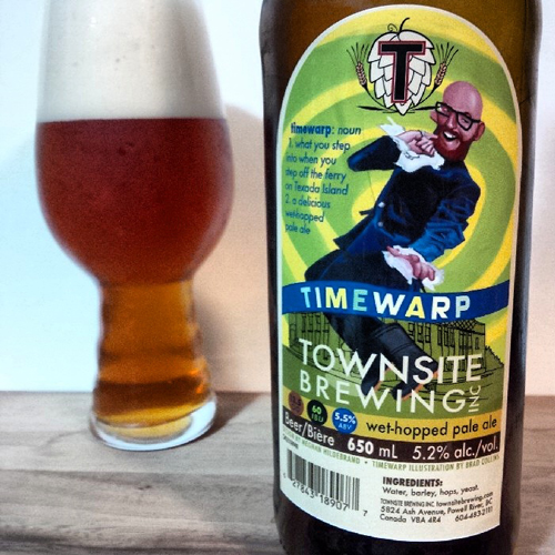 Townsite Brewing Timewarp