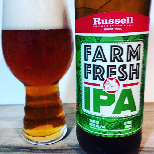 Russell Brewing Farm Fresh IPA