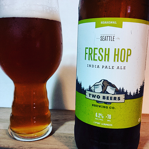 Two Beers Brewing - Fresh Hop IPA