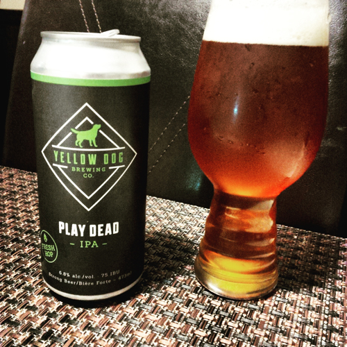 Yellow Dog Brewing Play Dead Fresh Hop IPA
