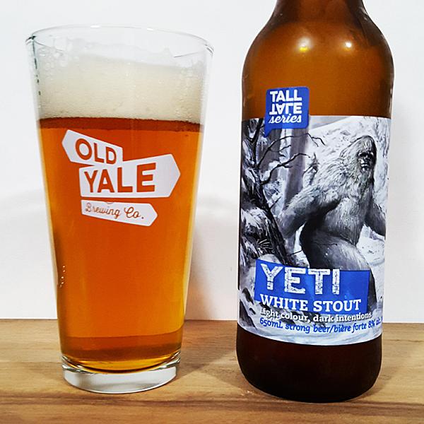 Old Yale Brewing Yeti White Stout